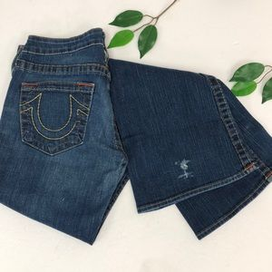 True Religion Jeans - True Religion Bobby Wide Leg flare denim jean 28